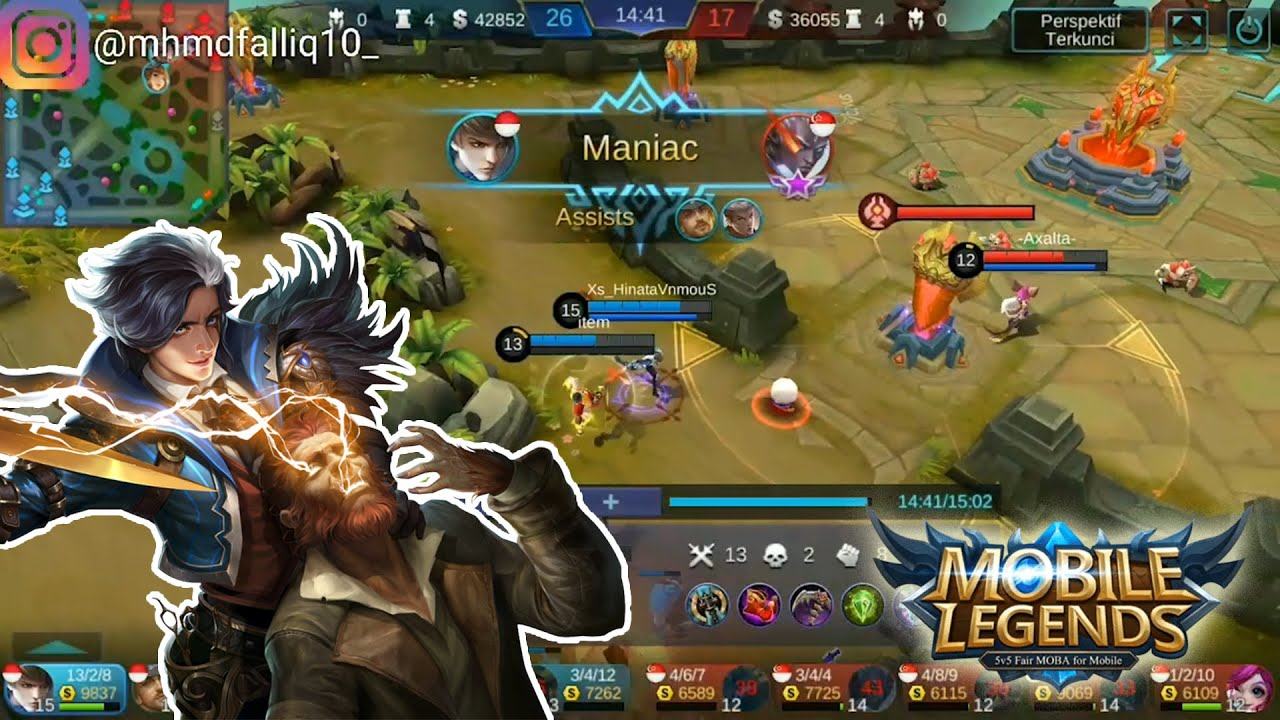 gusion.exe - mobile legend bang bang - youtube
