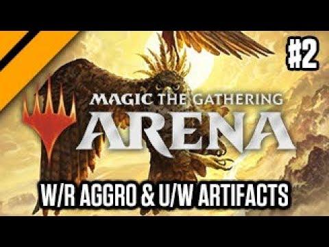 MTG: Arena M19 Quick Drafts - W/R Aggro & U/W Artifacts P2 (sponsored)