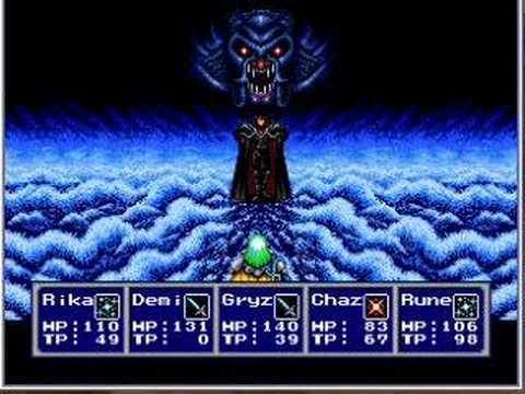 Phantasy Star 4 Zio Boss Fight