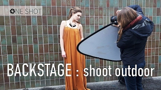 BACKSTAGE SHOOTING : Axelle Türk