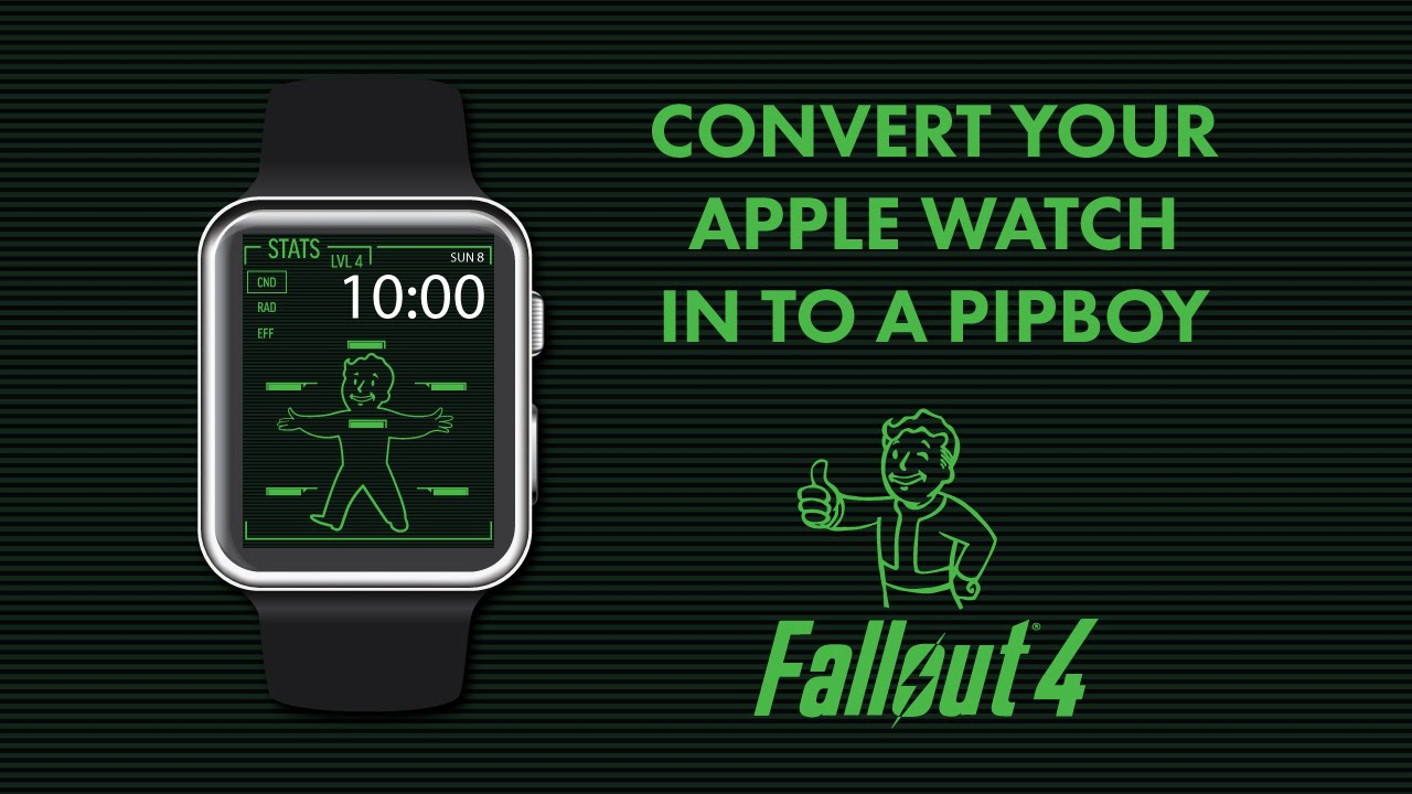 How to convert your Apple Watch in to a Pipboy