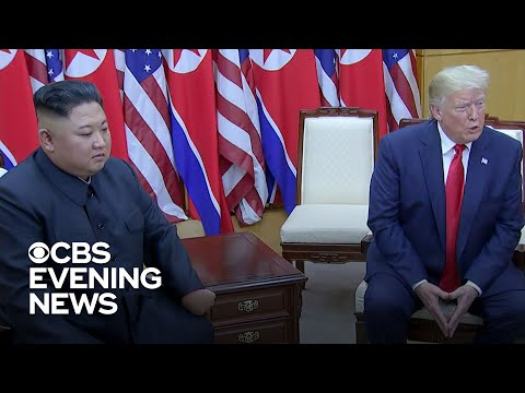 "Donald Trump meets Kim Jong Un and talks ""new future"" with North Korea"