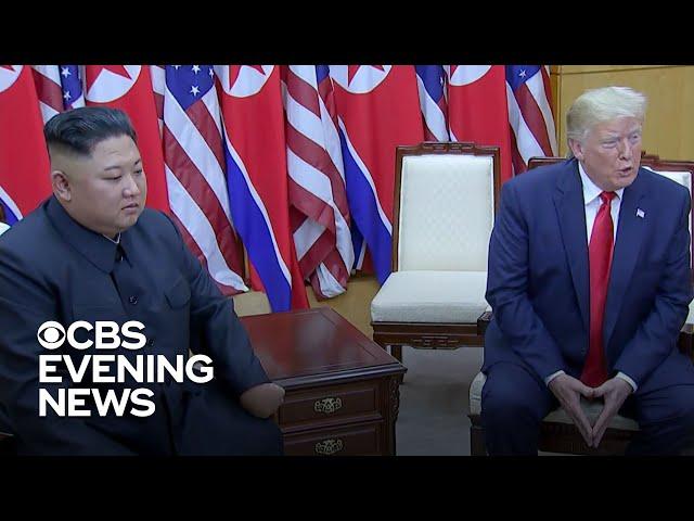 """Donald Trump meets Kim Jong Un and talks """"new future"""" with North Korea"""