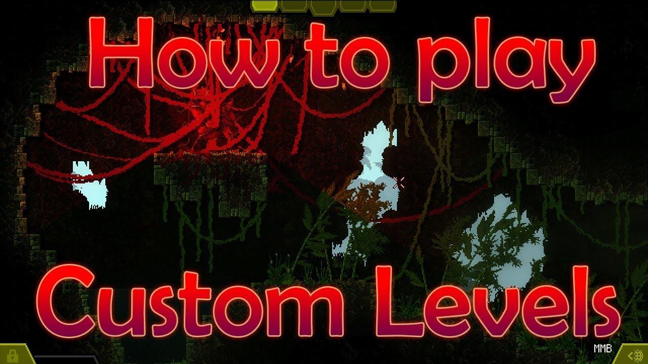 Carrion Demo Sneak Peek How To Play Custom Levels Youtube