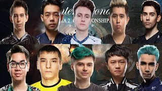 ШОУ МАТЧ ВСЕХ ЗВЕЗД Ti9 | Team Ramzes666 vs Team Miracle- | The International 2019