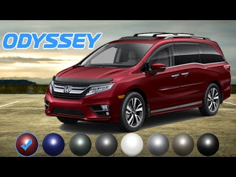 2018 Honda Odyssey Elite Colors With Accessories