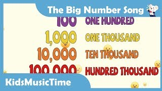 Baixar The Big Numbers Song - Learn to count from 1 to 1 trillion in English! KidsMusicTime