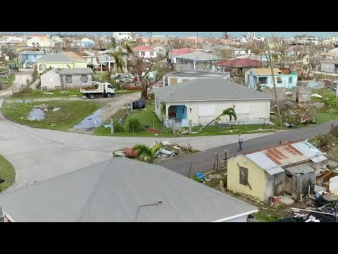 Residents flee tiny Barbuda, wiped out by Irma, ahead of Jose