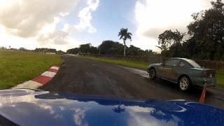 Kelvin Diaz Drifting @ The EcoTrack in Sebana Seca, Puerto Rico