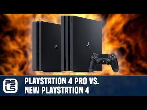Versus - PS4 Pro vs PS4