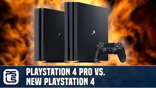 Versus - PS4 Pro vs PS4
