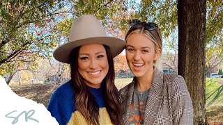 Kari Jobe with Sadie Robertson Huff on the WHOA That's Good Podcast