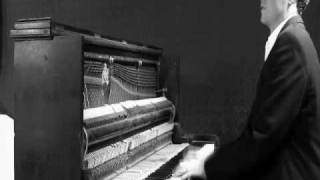 Blues piano performed by James Goodwin