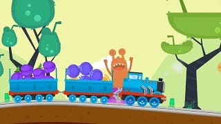 Thomas Train Driver Game Candy Alien and Cakes iPad