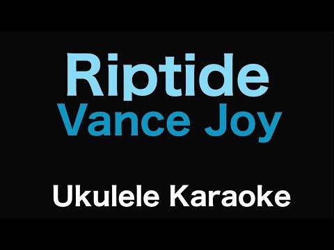 Riptide - Vance Joy | Ukulele Karaoke