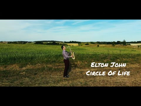"""Elton John - Circle Of Life (From """"The Lion King"""") Instrumental Saxophone Cover By JK Sax"""