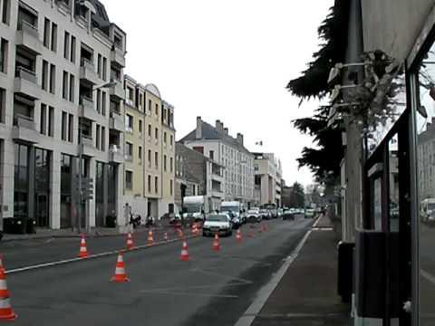 Les travaux de la deuxi me ligne de tramway d butent orl ans youtube - Horaire tram orleans ligne a ...