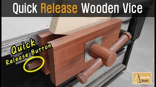 How to make Quick Release Wooden Vice (Easy to make !)