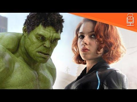 Hulk & Black Widow Relationship is a Mess in Avengers Infinity War