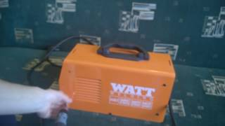 Сварочный инвертор Watt 220id | Отзыв, разборка, небольшой обзор.