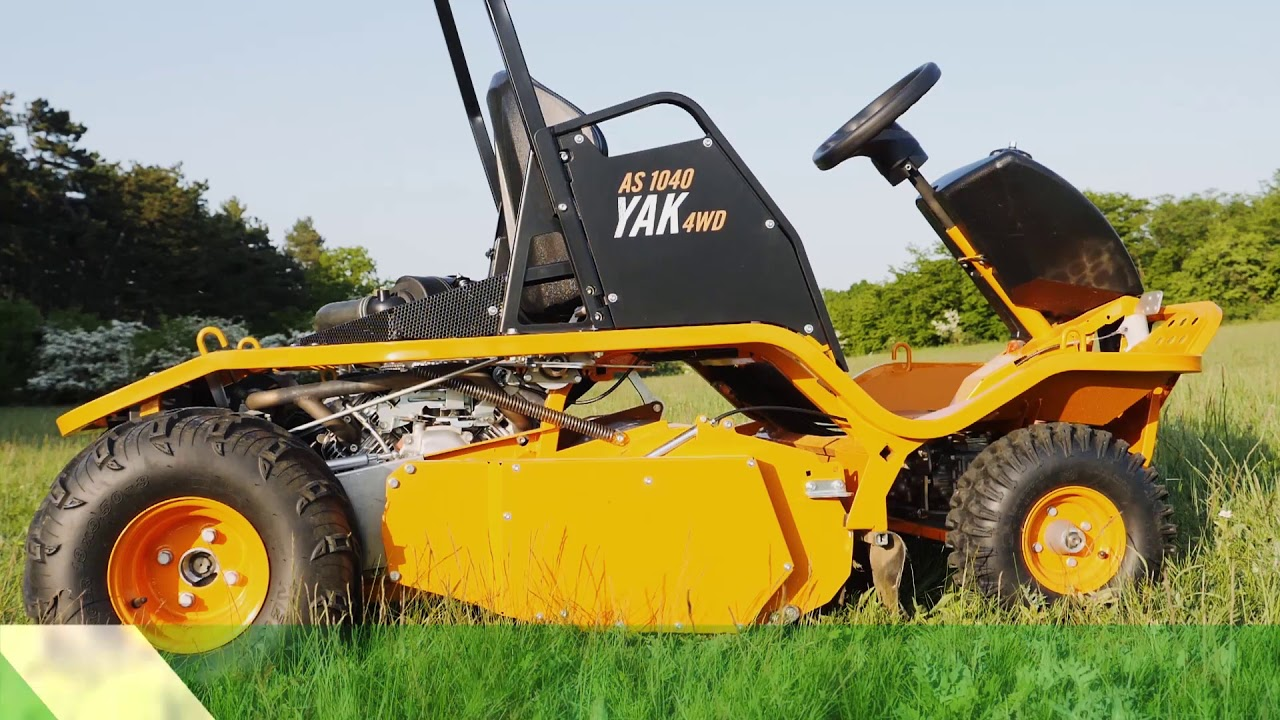 NEW AS 1040 YAK 4WD ride-on flail mower