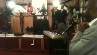 Bishop John Matthews preaches, What