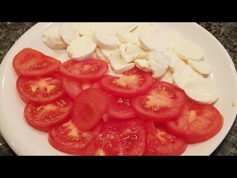 Mozzarella and Tomato Pizza Recipe