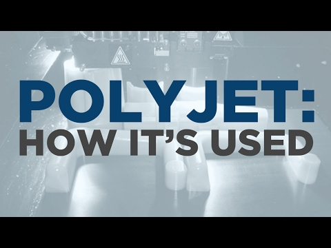Types Of 3D Printing: PolyJet 3D Printing And How It's Used