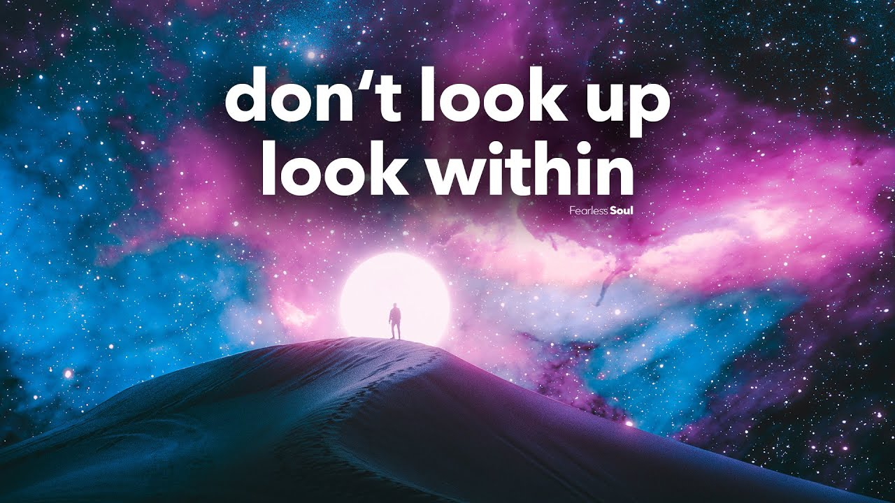 This Song Has Such A DEEP Message (Official Lyric Video) Don't Look Up Look Within