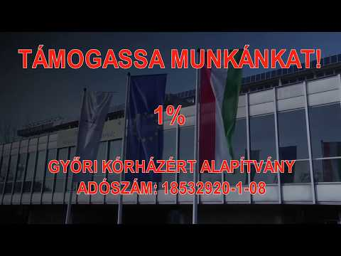 Támogassa Adója 1%-val A Győri Kórházért Alapítványt!