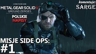 Zagrajmy w Metal Gear Solid 5: Ground Zeroes [napisy PL] BONUS #1 - Side Ops: Wyeliminować Marines