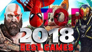 BEST 30 Games OF 2018 With  HUGE GRAPHIC 2018