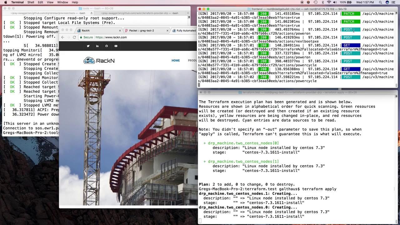 Data Center Bacon: Terraform to Metal with Digital Rebar |