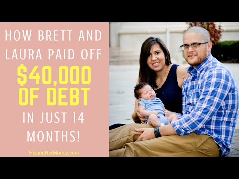 How Brett & Laura Ashley Paid off $42,000 of Debt in 14 Months