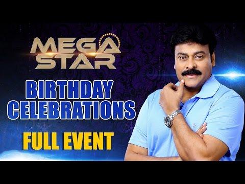 Megastar Chiranjeevi Birthday Celebrations | 2016 | A Day for Mega Star | Shreyas Media