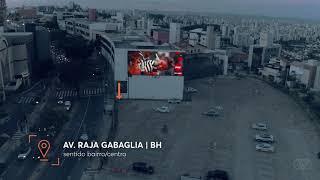 Empena Digital | Av. Raja Gabgaglia