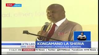 Seneta wa Baringo Gideon Moi alifungua rasmi kongamano la wanasheria
