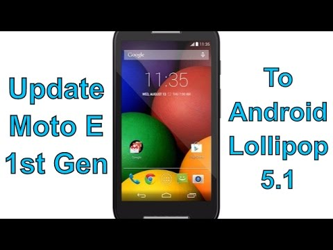 How To Update Moto E(Indian model) To Lollipop 5.1 Officially-Tech4Joy