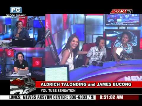 Aldrich Talonding and James Bucong live at Punto Asintado (Radyo5 92.3 News FM)
