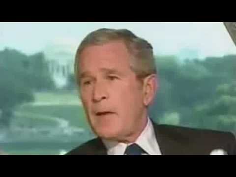 George Bush 8 years in 8 seconds
