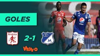 América vs. Millonarios (2-1) | Liga BetPlay Dimayor 2021-1 - Fecha 16