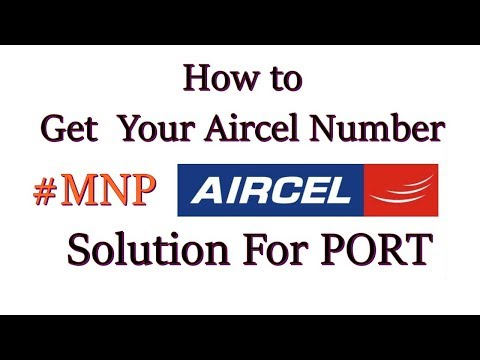 Solution For Aircel PORT #MNP Aircel Current News  நம்மலால் முடிஞ்ச HELP