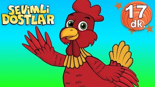 Küçük Kırmızı Tavuk - Kırmızı Balık ve Sevimli Dostlar ile masal bebek şarkıları dinle