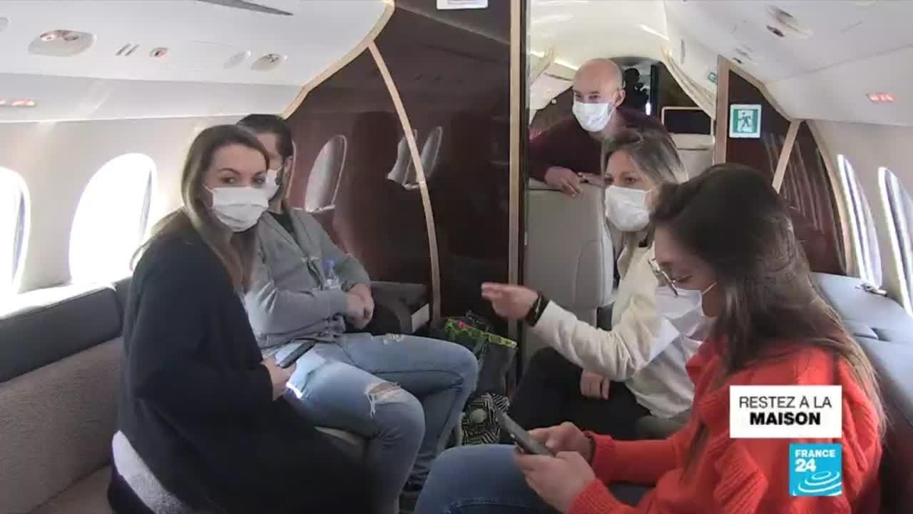 Pandémie de Covid-19 en France : mobilisation du secteur aérien pour aider les soignants
