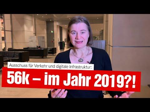 56kbit/s sollen im Jahr 2019 für einen funktionalen Internetanschluss reichen?! (13.11.2019)