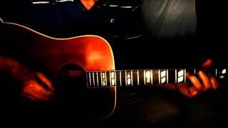 Evangelina ~ Hoyt Axton ~ Acoustic Cover w/ Gibson Hummingbird 1964 & Bluesharp