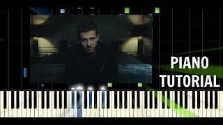 Charlie Puth - Attention - Piano Easy Tutorial / Cover - Synthesia