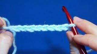 Как вязать крючком воздушные петли. Вязание цепочки  Урок 2 air hook loops