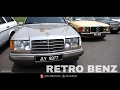 Mercedes Benz AMG Retro Cars Modified Gathering - Retro Havoc 2017
