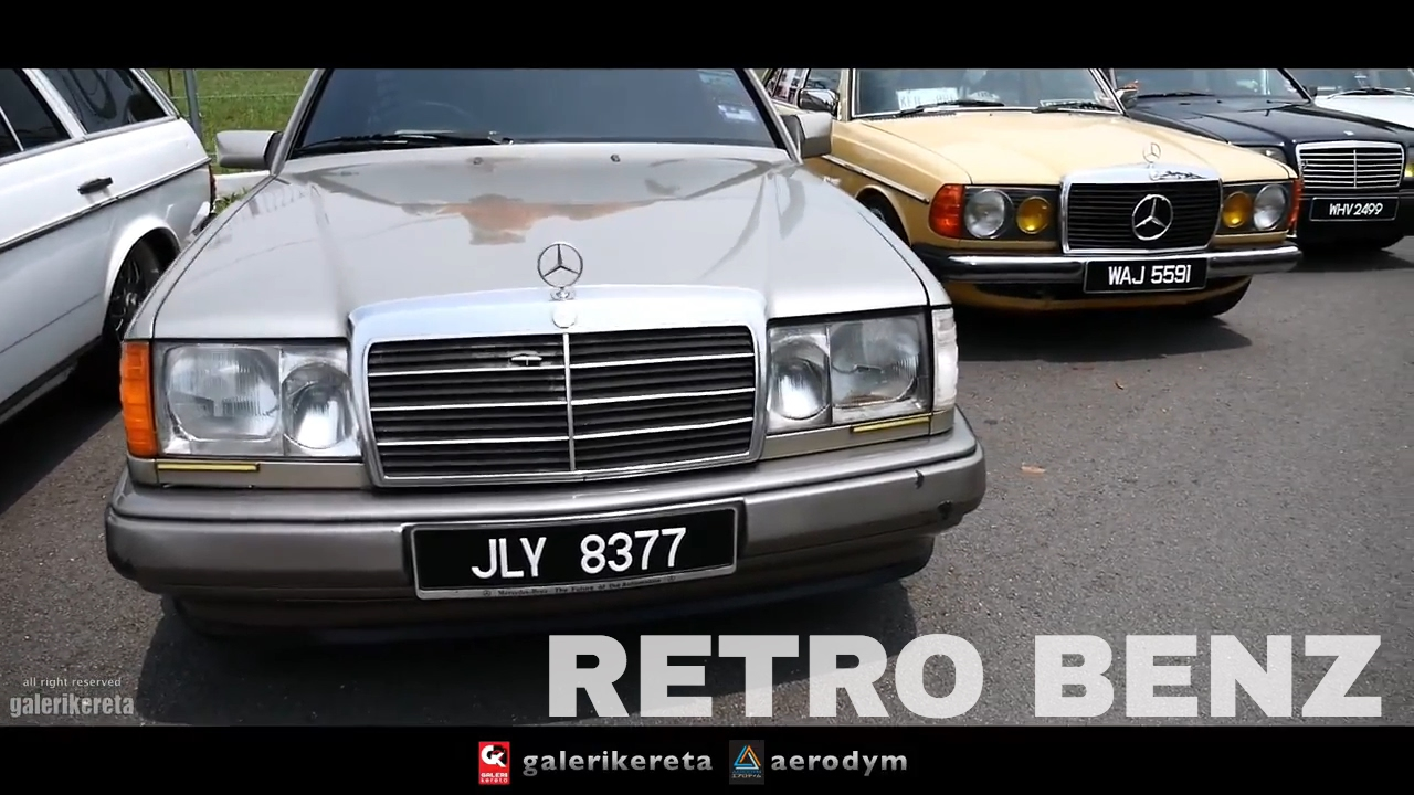 Mercedes Benz Amg Retro Cars Modified Gathering Havoc 2017